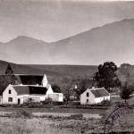 Old church and back of Koster House, Tulbagh
