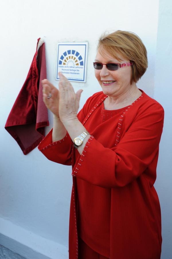 Premier Zille unveils HWC plaque