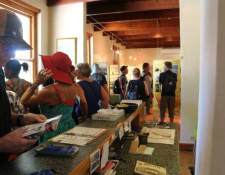 earthquake museum visitors